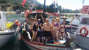 Boat trip gang